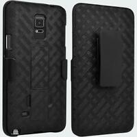 Kickstand + Holster Combo Case with Belt Clip for Samsung Galaxy Note 4