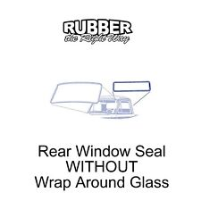 1961 1962 1963 1964 1965 1966 Ford Truck Rear Window Seal NO Wrap Around