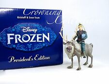 Grolier Kristoff & Sven President's Edition Ornament Disney Early Moments Frozen