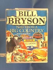 BILL BRYSON - Notes From A Big Country - EXCELLENT CONDITION Double Cassette