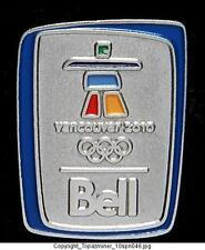 OLYMPIC PIN 2010 VANCOUVER CANADA BELL TELECOM SPONSOR