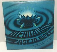 "SHERWOOD MERTZ: meditations: east to west Astara 12"" LP"