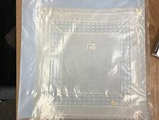 Antique Hand Made Lace Handkerchief Bridal French Lace