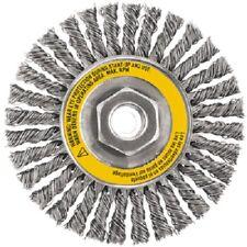 """Dewalt, DW49204, 4"""" x 5/8""""-11 HP, .020, Stainless Stringer Wire Wheel"""
