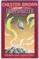 UNDERWATER #1, NM, Chester Brown, Indy, Underground, 1994, more indies in store