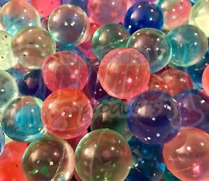 "144 - Premium Glitter 1"" Super Bouncy Hi Bounce Bouncing Balls 27mm"