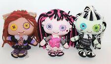 "Monster High Plush Dolls Bundle Mattel 2009 9"""