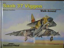 Squadron SAAB 37 VIGGEN Walk-Around COLOR Photos detail HARDCOVER NEW HB