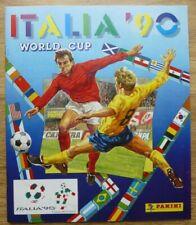 Panini Italia 90 World Cup EMPTY Sticker Album + Promo Bag