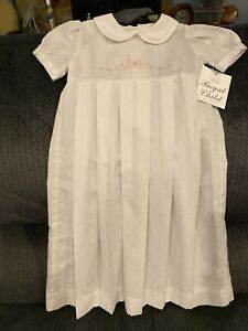 Pretty Christening Gown By Royal Baby. 3-6 Months. New With Tag.