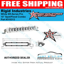 "Rigid Industries White SR-Series Pro 10"" Combo #310313"