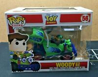 Woody With RC - 56 Disney Pixar Toy Story (Funko POP!) Rides Vinyl Figure