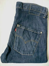 LEVI'S TYPE 3 TWISTED ENGINEERED JEANS W32 L32 STRAUSS BLUE LEVF571 #