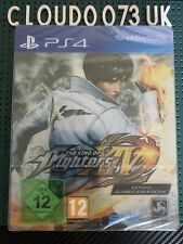 The King of Fighters XIV Day One Steelbook limited Germany Edition New Sony PS4