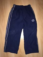 Boys Dark Blue Trackshuit bottoms - BHS Duck and Dodge - Aged 3