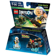 LEGO DIMENSION 71230 FUN PACK Back to the future Doc Brown new packed