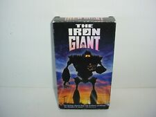 The Iron Giant Vhs