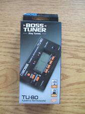 BOSS GUITAR / BASS TUNER & METRONOME - TU-80