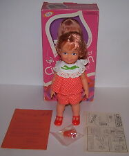 Velvet's Little Sister Cinnamon Girl Doll w/Hairdoodler Ideal 1067-8 NIB 1973