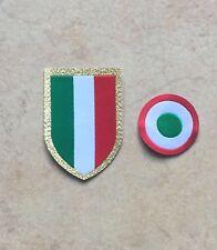 toppa patch Scudetto Coccarda Juventus coppia calcio