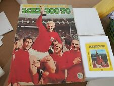 FKS MEXICO 70 WORLD CUP SOCCER STARS STICKER ALBUM & 1 x STICKERS PACK. COMPLETE