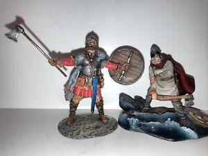 metal toy soldiers. Saint Petersburg.  Vikings