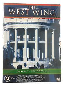 The West Wing Season 2 Part 1 DVD 3-Disc Set NEW
