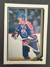 1987-88 O-Pee-Chee sticker Wayne Gretzky no 86 OPC
