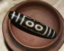 tibetan antique 5 eyed tibet dzi bead pendant old genuine amulet five eyes gzi