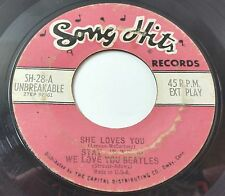 The Beatles Song Hits: She Loves You-Stay-We Love You-Please Me-Shoop 45 Rock