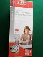Dupont Quick Twist 1 Stage Drinking Water Filtration System Filter WFQT135009X