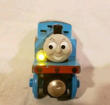 Thomas wooden Talking Thomas Light and sounds works great fresh batteries incl