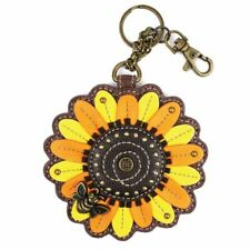 Chala -  Sunflower  - Key Fob / Coin Purse