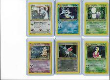 Pokemon 1st edition Neo Genesis 16 card holo lot Lugia Typhlosion nice!