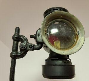 1914 DIETZ Eureka Lantern Oil Lamp Automobile Buggy Carriage Light with Bracket