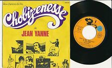 "BOF CHOBIZENESSE 45 TOURS 7"" FRANCE JEAN YANNE"