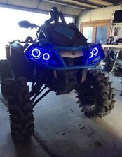 Can Am Outlander Gen 2 Halos rings lights set 4 - Chasing Halos With Remote