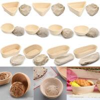 2/5Pcs Multi Shape & Size Banneton Brotform Bread Proofing Proving Rattan Basket