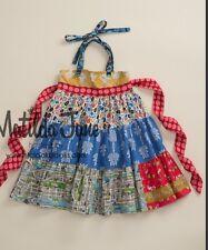 Girls Matilda Jane platinum New York, I Love You teired Ellie dress size 8 (6)