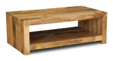 MANGO LIGHT SOLID MANGO OPEN COFFEE TABLE (H53L)