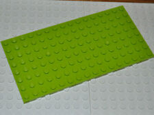 LEGO PARTS - 1X LIME GREEN BUILDING PLATE 8X16 STUDS/MAT/BASE BOARD/BASEPLATE