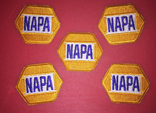 5 Lot Vintage NAPA Racing NASCAR Hat Jacket Racing Patches Michael Waltrip C