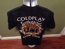 COLDPLAY LOCAL CREW SHIRT!  VIVA TOUR 2009 adult MEDIUM STRICTLY FX