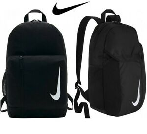 Nike Backpacks Academy Team Backpack Rucksack  School Bag Gym Sports Bags Black
