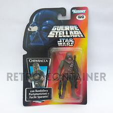 STAR WARS Kenner Hasbro Action Figure - POTF POTF2 - Chewbacca ITALIAN GIG