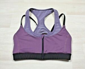 Victoria's Secret? VSX Sport Double Layer Wireless Sports Bra Mesh Purple Zip