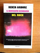 Renzo Arbore IL NUOVISSIMO DIZIONARIO DEL ROCK Panda Libri 1989