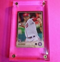 Topps Update JOE ROSS Rookie RC #267 GOLD PARALLEL #d /2015 Washington Nationals
