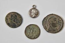 g10e64- 4x uralte Münze, 1x Silber als Anhänger
