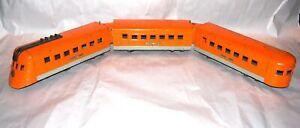 Lionel prewar O Gauge Lionel Jr. 1700E Hiawatha Orange Streamliner Set! PA